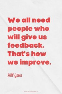 Feedback Quote