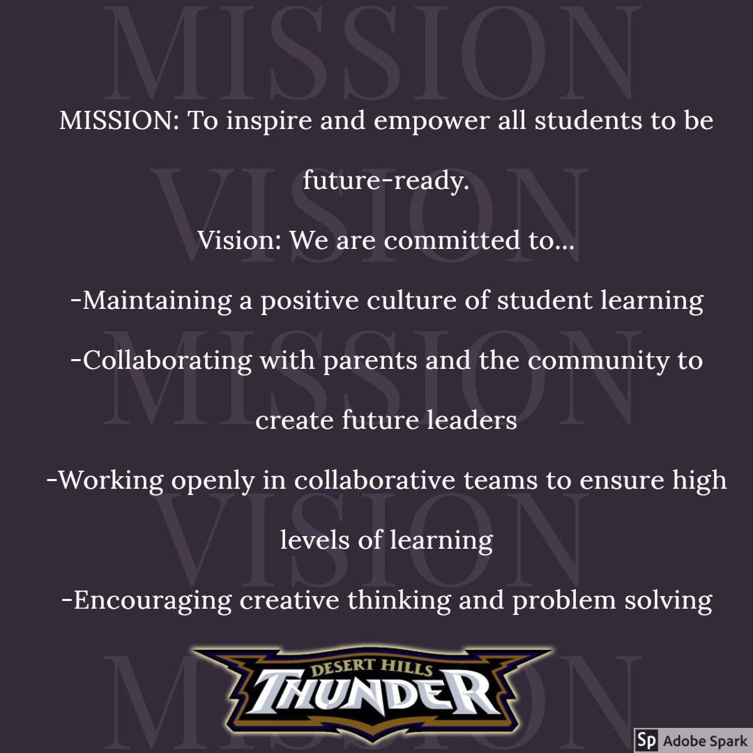 Mission Vision And Vision Statement For DHMS