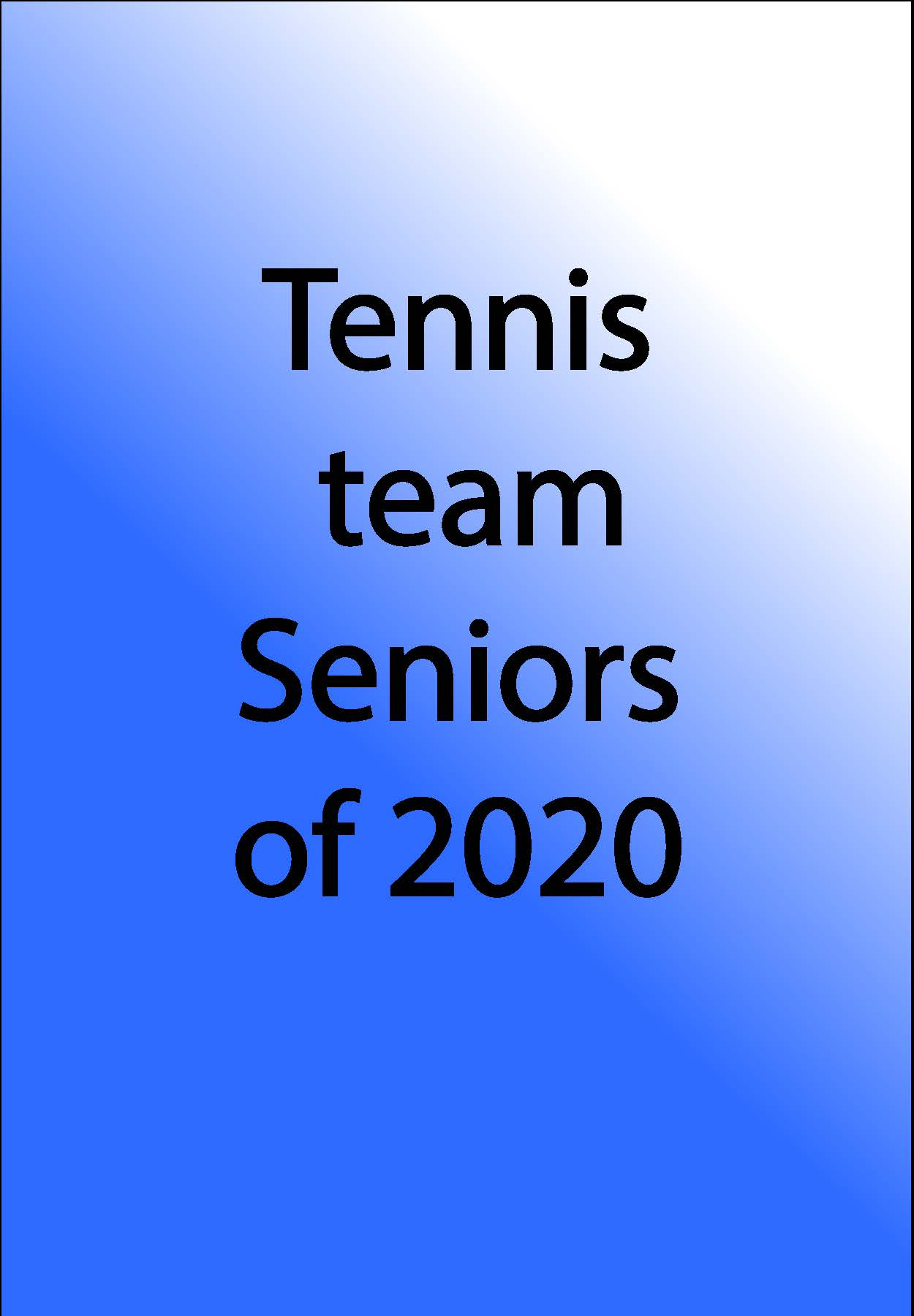 Tennis Team Logo