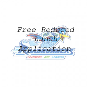 Free or Reduced Lunch Application Link