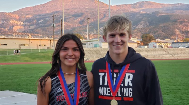 Caila Odekirk and Josh Armstrong