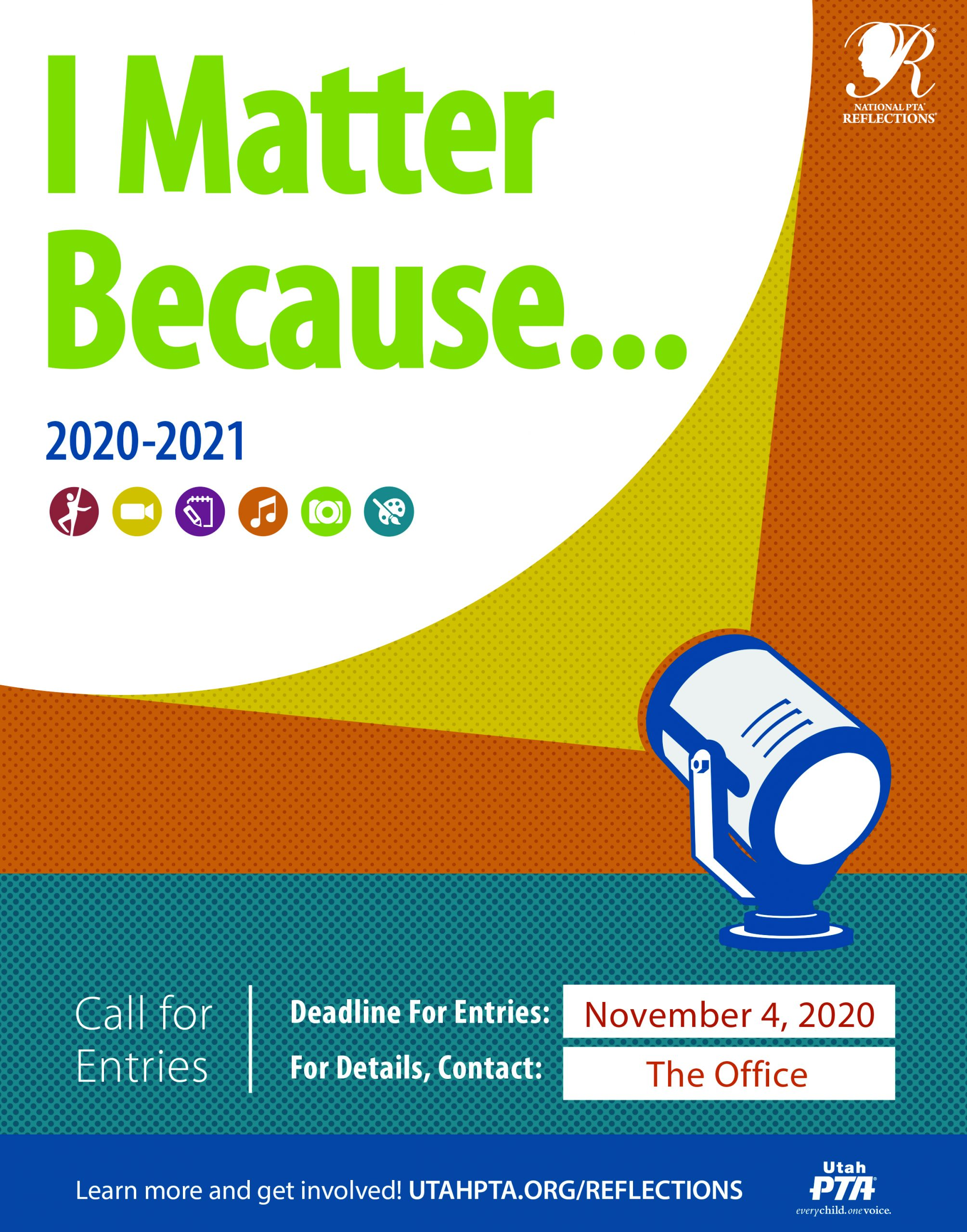 Because I Matter - Reflections Poster