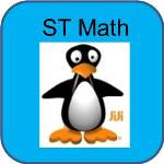 ST Math Icon Shows JiJi the Penguin