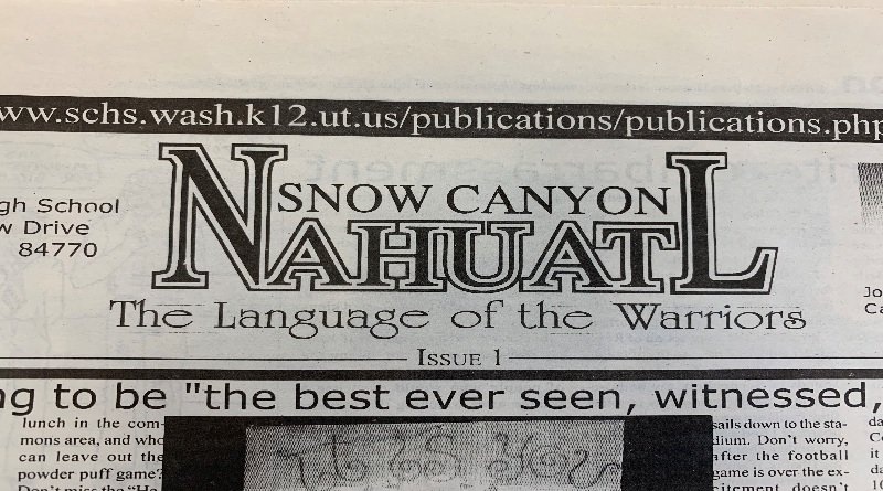 New School Newspaper…