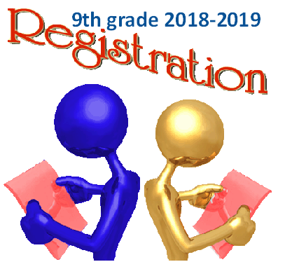 2018-2019 9th grade registration/information