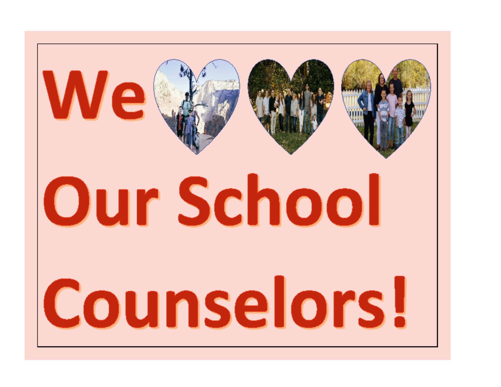 We love our Cousnelors