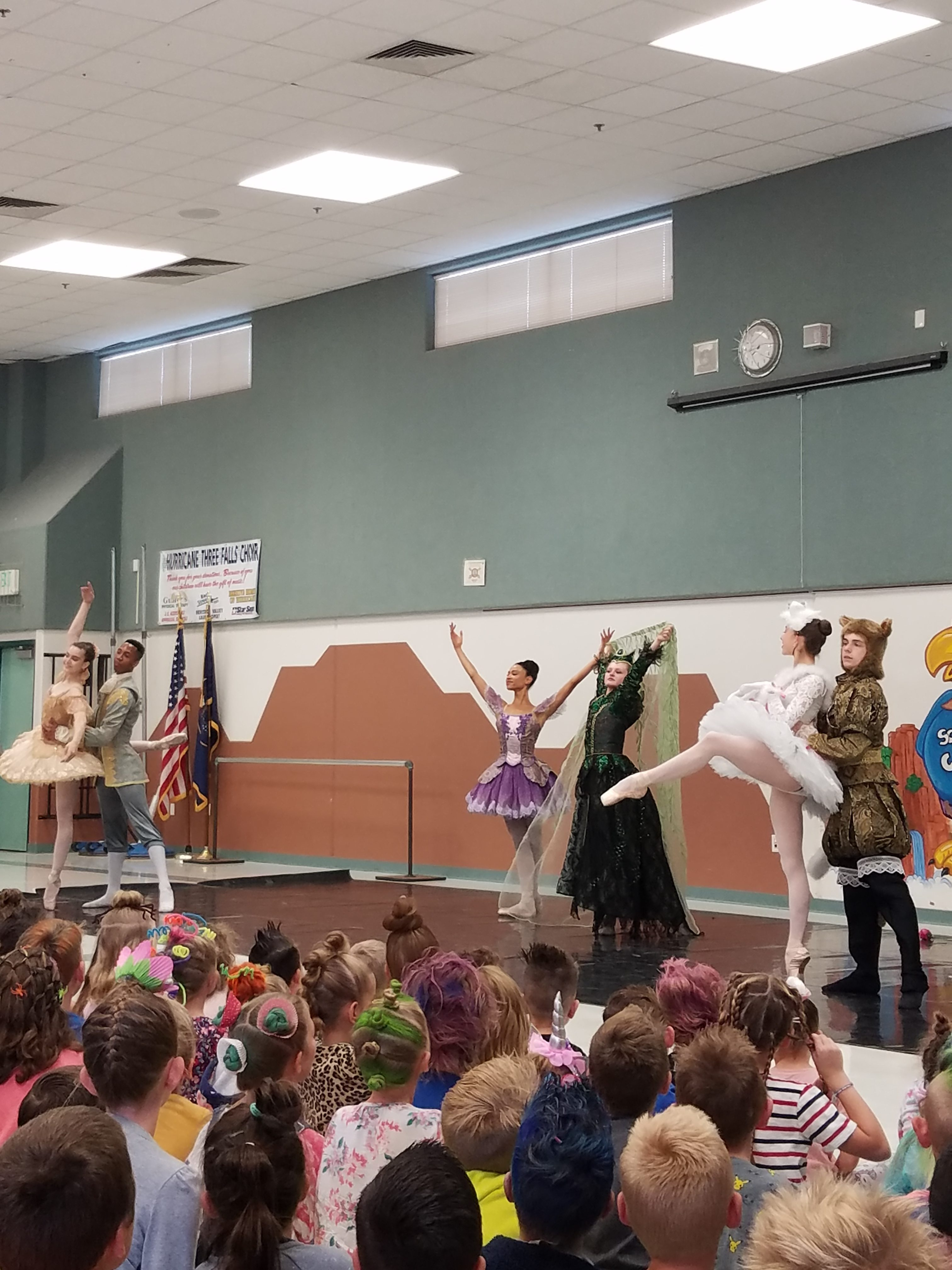 Ballet West Cast Bows At Assembly